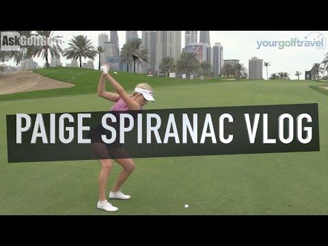 Paige Spiranac Omega Dubai Ladies Masters Pt 2