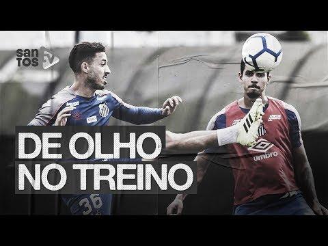 SANTOS INTENSIFICA TREINOS PARA ENCARAR O GOIÁS | DE OLHO NO TREINO (01/08/19)