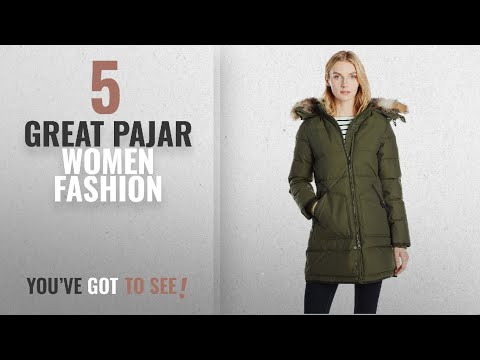 b5d0dface39 Pajar Women Fashion [2018 Best Sellers]: Pajar Women's Cougar Dowan Coat  With Removable Fox Fur - YouTube