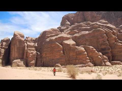 Climbing in Jordan, Wadi Rum, Ofer Blutrich