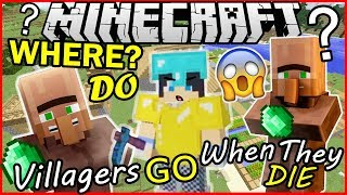 Where do villagers go when they die   Minecraft Machinima