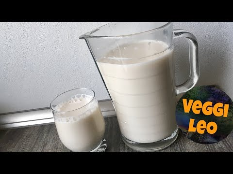 Sesam-Milch selber machen   vegan, gesund und lecker