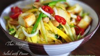 Thai Mango Salad - Indian Fusion ( Yummy)