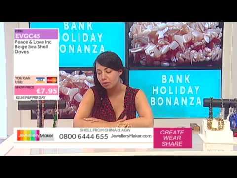 How To Make Macrame Jewellery - JewelleryMaker LIVE (am) 31/08/2015