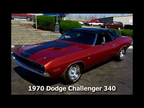 1970 Dodge Challenger Convertible 340 V8 Muscle Car