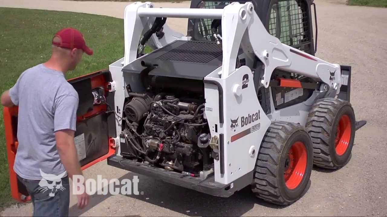 bobcat loaders tier 4 engine maintenance [ 1280 x 720 Pixel ]