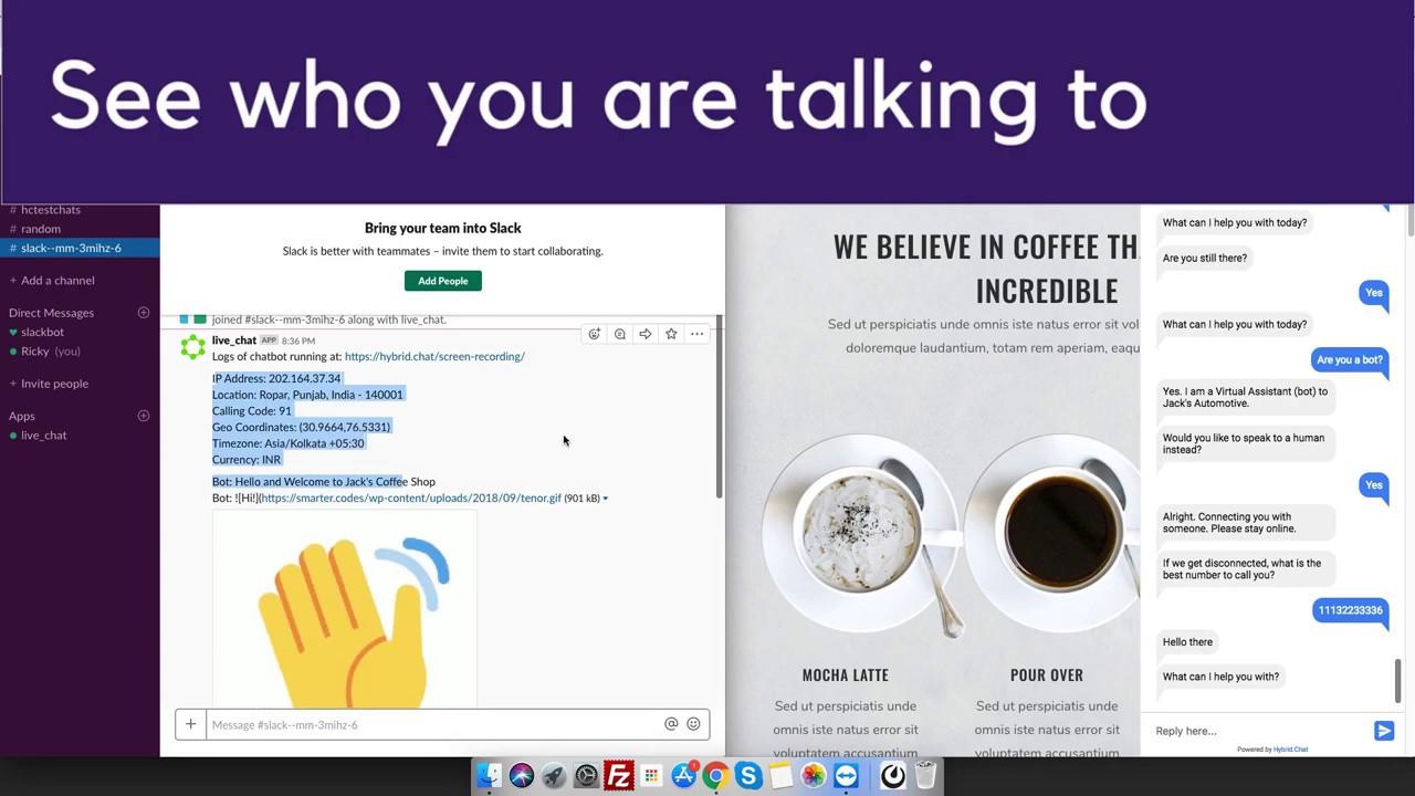 Live Chat (+ Chatbots) with Slack for WordPress – WordPress plugin
