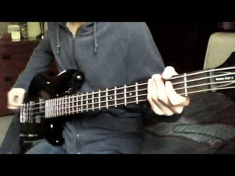 Just the Way You Are-Peirce The Veil (Bass Cover)