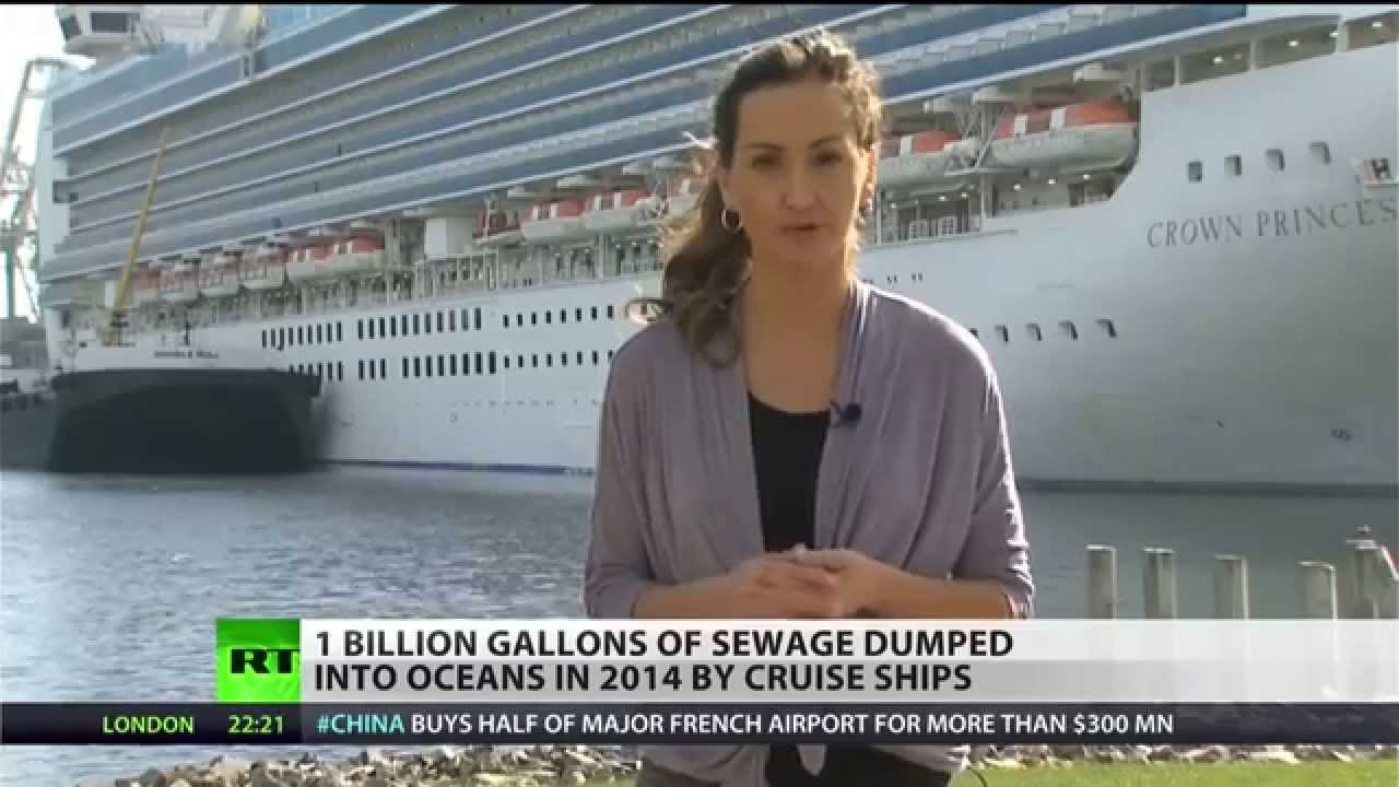 Cruise Ships Polluted Oceans With One Billion Gallons Of Sewage In - Cruise ship sewage
