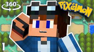 Pokémon Johto - Minecraft VR/360° Roleplay - #1