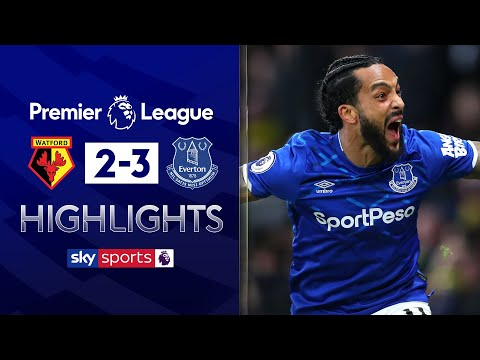 Theo Walcott completes incredible comeback | Watford 2-3 Everton | EPL Highlights