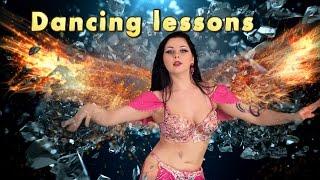 Восточные танцы   урок № 1 Bellydance