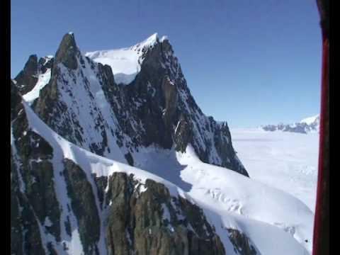 Flying in Antarctica