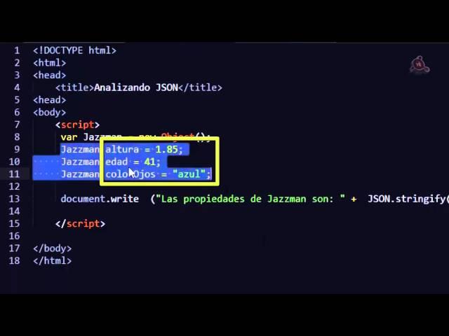 31.- Curso de JavaScript para principiantes. Los Métodos parse y stringify del objeto JSON.