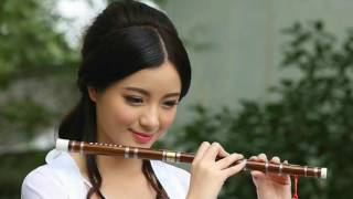 """'A Flute Girl' Most Beautiful Chinese Flute Music """"Endless love"""""""