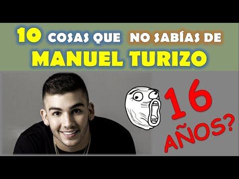 10 COSAS QUE NO SABIAS DE MANUEL TURIZO (Una lady como tu)