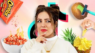 JE TESTE DES FOOD HACKS TIKTOK