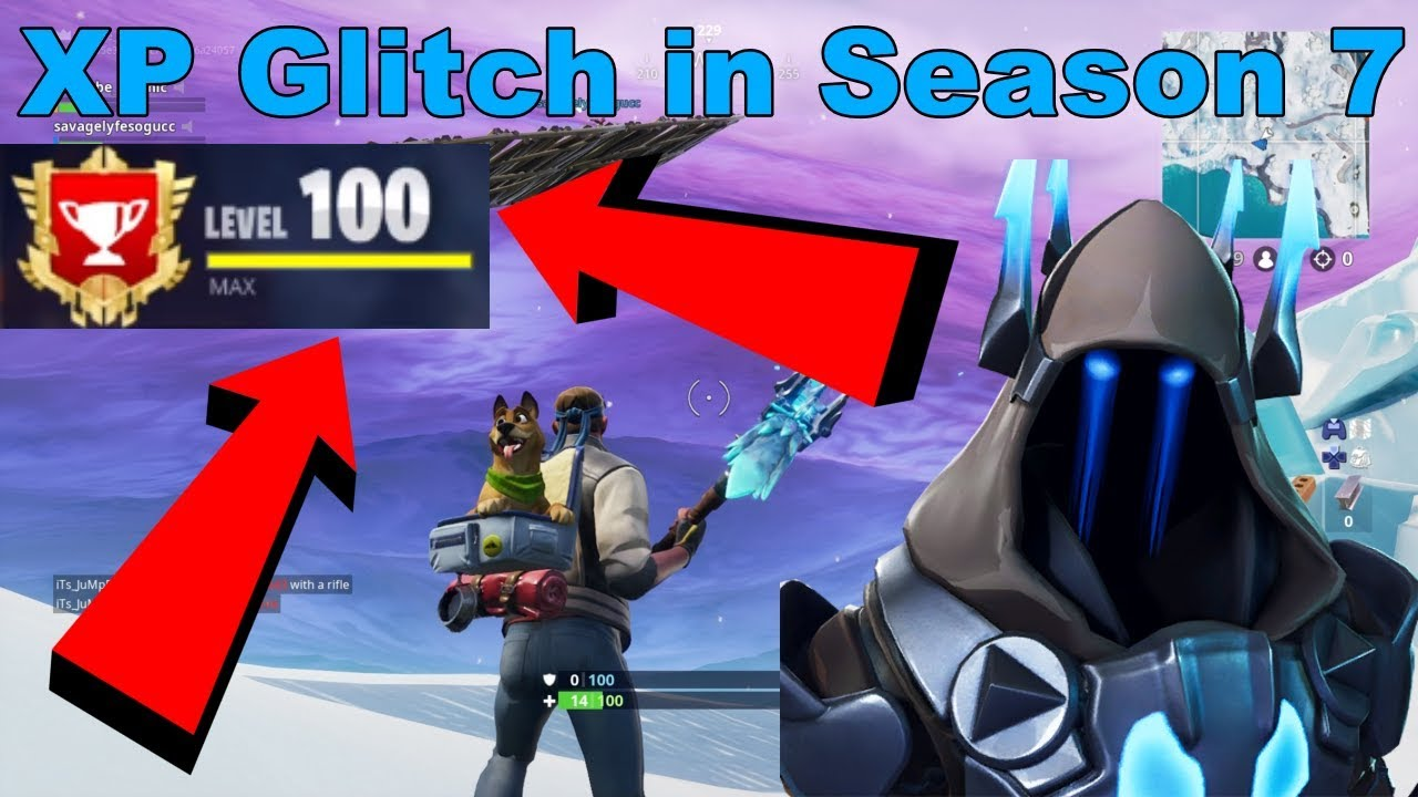 New Xp Glitch In Season 7 Fortnite How To Level Up Fast Youtube