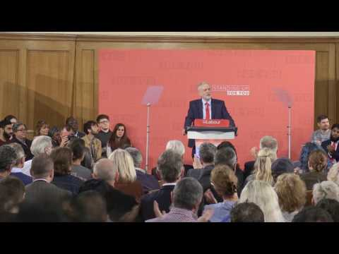 Jeremy Corbyn says he will break political rules to overturn the 'rigged system': Full speech