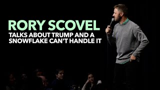 Rory Scovel - Talks About Trump and A Snowflake Can't Handle it