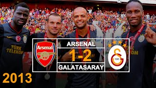 2013 - Arsenal 1 - 2 Galatasaray. - Emirates Cup - Özet