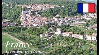 Liverdun By Drone at Camping Les Boucles de la Moselle| Drone4Fun |