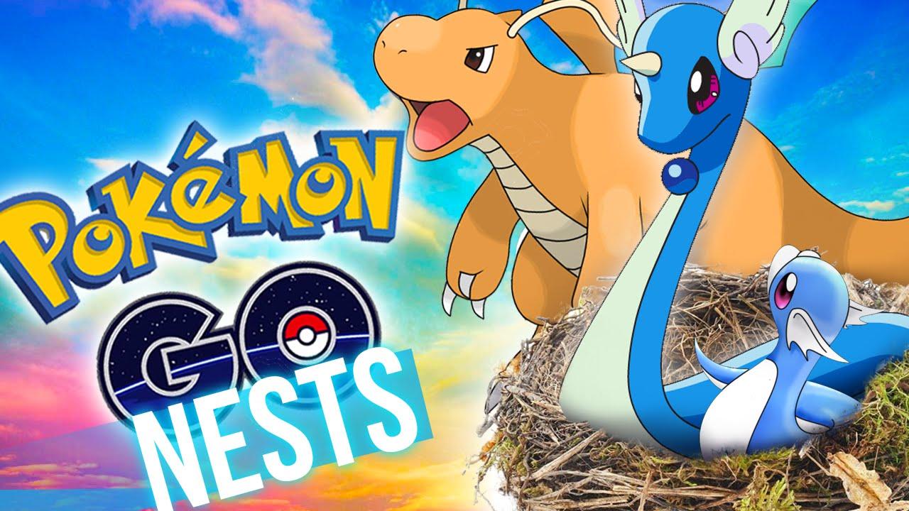 Pokemon Go - How to find RARE Pokemon Nests! - YouTube