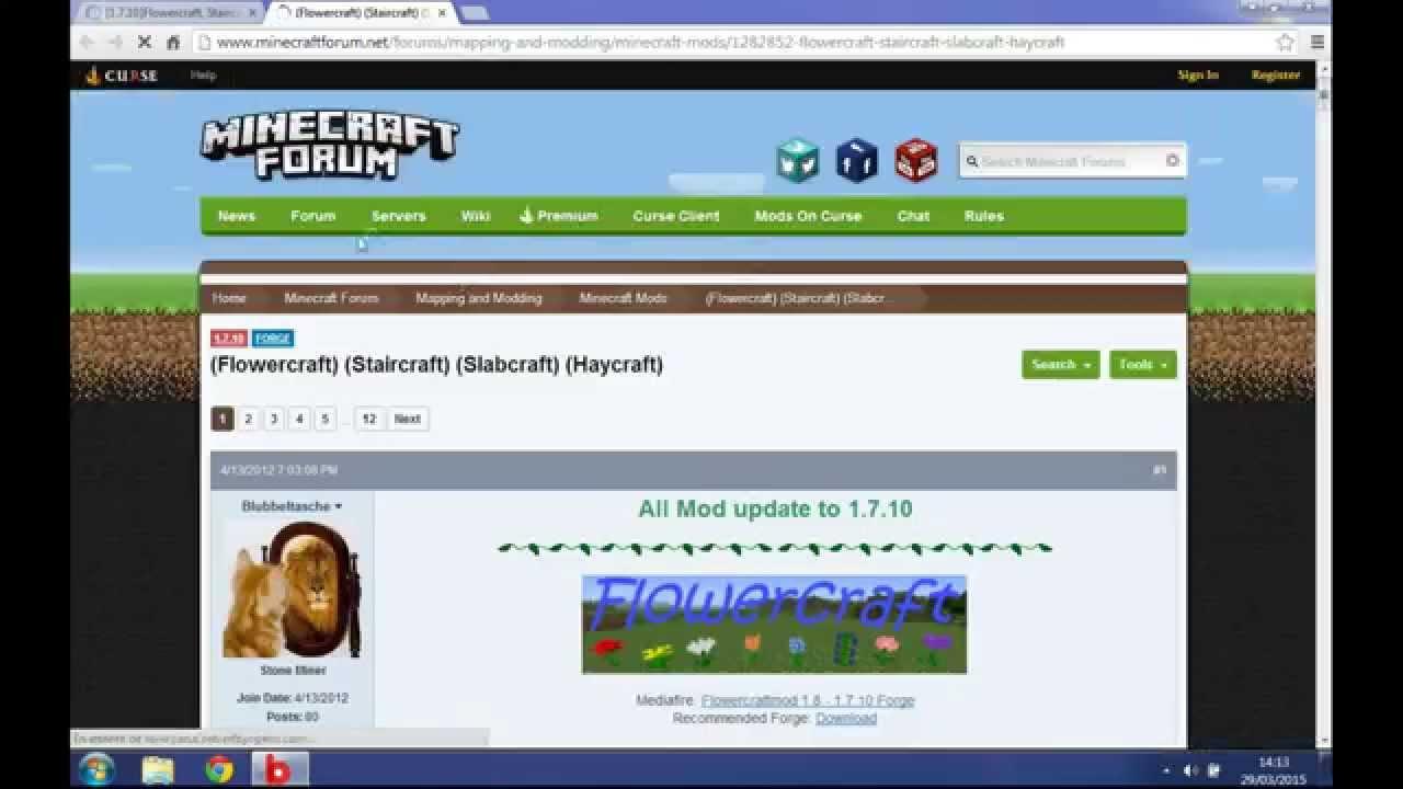 Installation de mods – Le Minecraft Wiki officiel