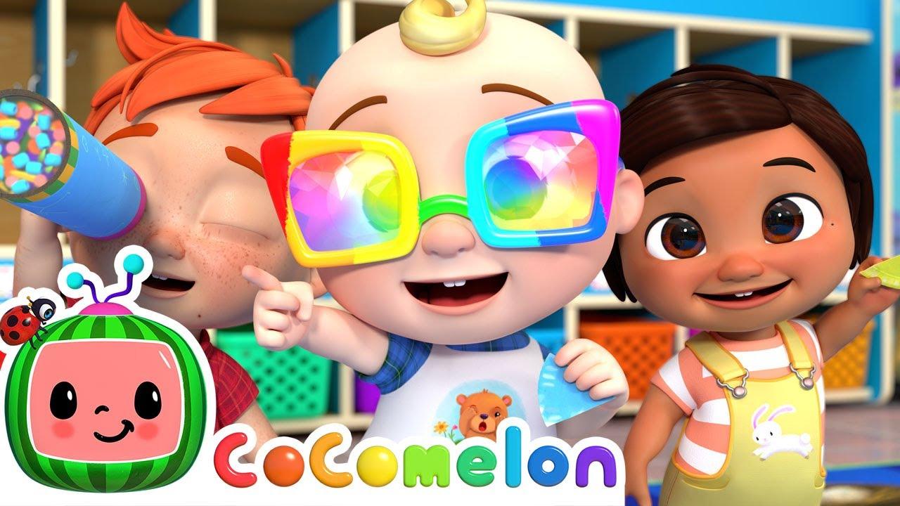 Color Kaleidoscope Song | CoComelon Nursery Rhymes & Kids Songs
