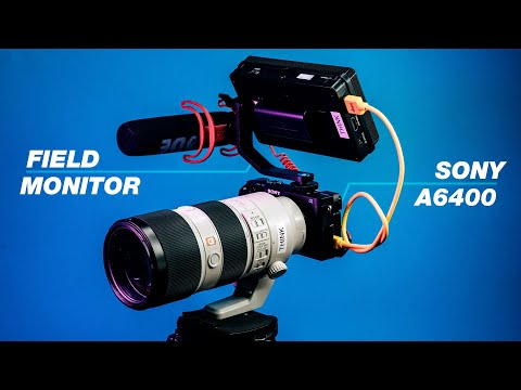 The Best Video Camera Setup For Events (Sony A6400 And Budget Field Monitor)