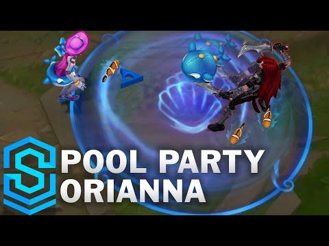 Pool Party Orianna Skin Spotlight - League of Legends