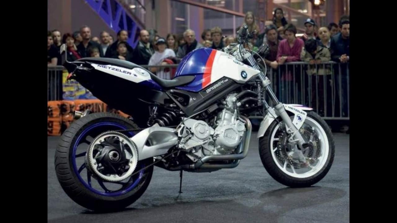 Custom Bmw F 800 Bikes Youtube