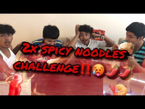 Spicy Noodles Challenge!! EXTREMELY HOT!! (Loser Gets A Punishment)
