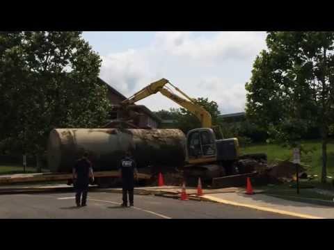Wilton, CT Cider Mill School Oil Tank removal