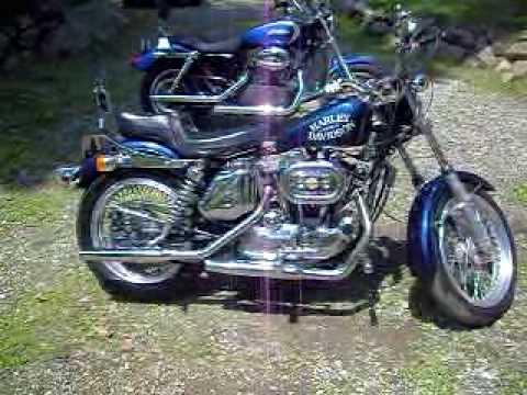 1974 Harley Davidson Sportster Ironhead - YouTube