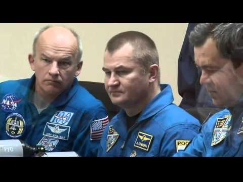 New International Space Station Crew Prepares for Launch