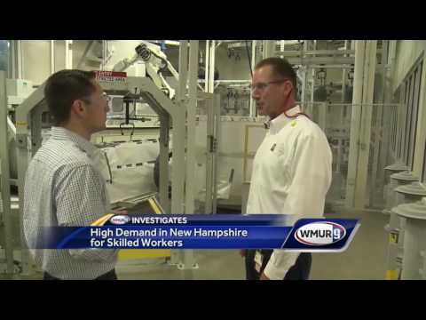 Demand for skilled workers rises in New Hampshire