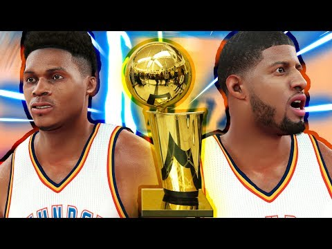 Can Paul George and Russell Westbrook win a NBA Championship together?