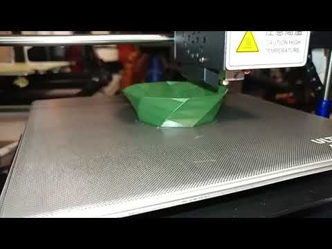 Today's 3D Print 137 Quikie torturing a new printer :-)