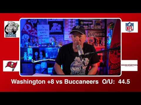 Washington Football Team vs Tampa Bay Buccaneers 1/9/21 NFL Wildcard Pick and Prediction Saturday
