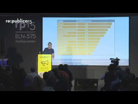 re:publica 2015 - Wolfie Christl: Corporate Surveillance in the Age of Digital Tracking, Big Da... on YouTube