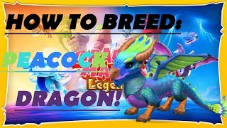 Dragon Mania Legends PC - How To Breed the Peacock Dragon!
