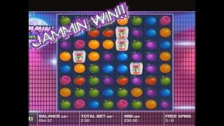 Mini Online Slots Bonus Session! Jammin Jars Finally PAYS!!!