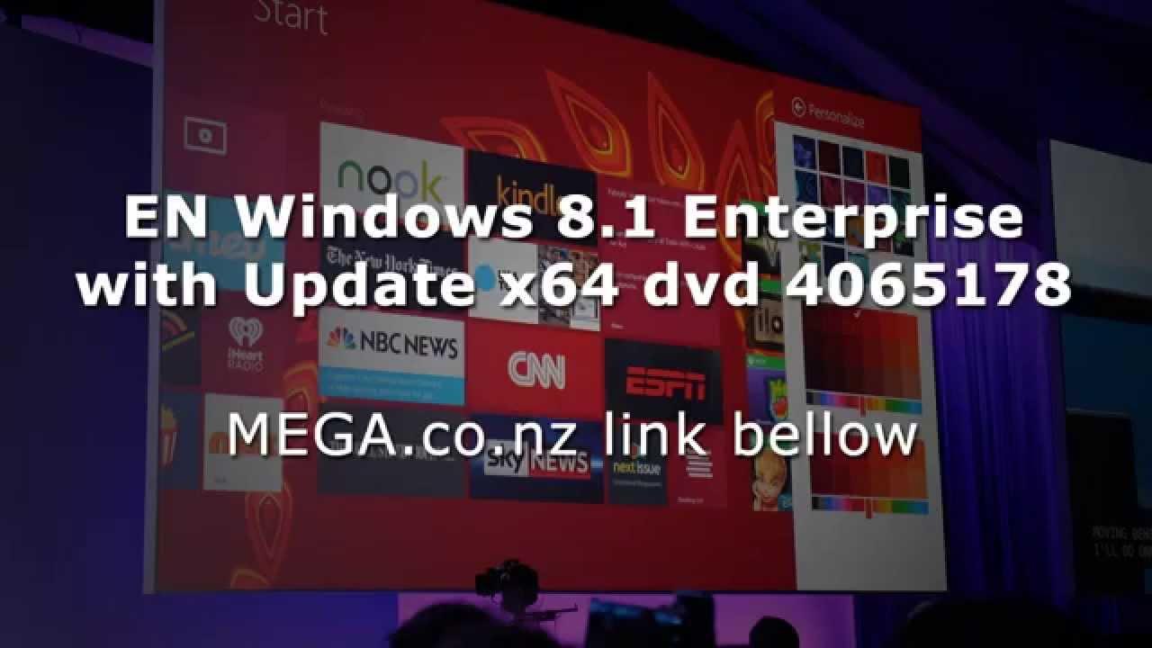 Windows 8 1 enterprise update download iso - En Windows 8 1 Enterprise With Update X64 Dvd 4065178