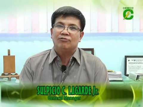Central Negros Electric Cooperative GM Lagarde