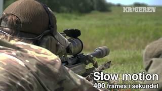 Sniper slowmotion - Sako TRG-42