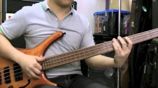 Warwick Infinity Bass Groove Slap solo