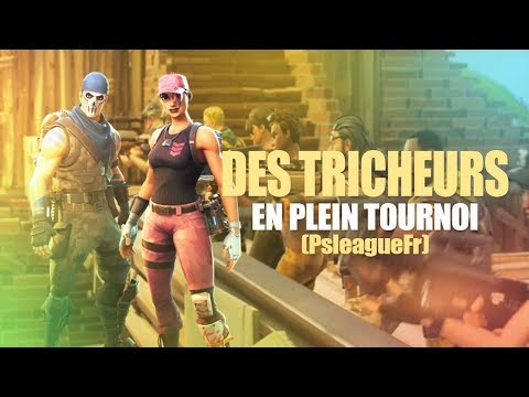 [REDIFF] TOURNOI FORTNITE 2v2 - ON TOMBE CONTRE DES TRICHEURS ! @PsLeagueFR