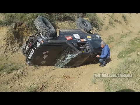Off road car crash