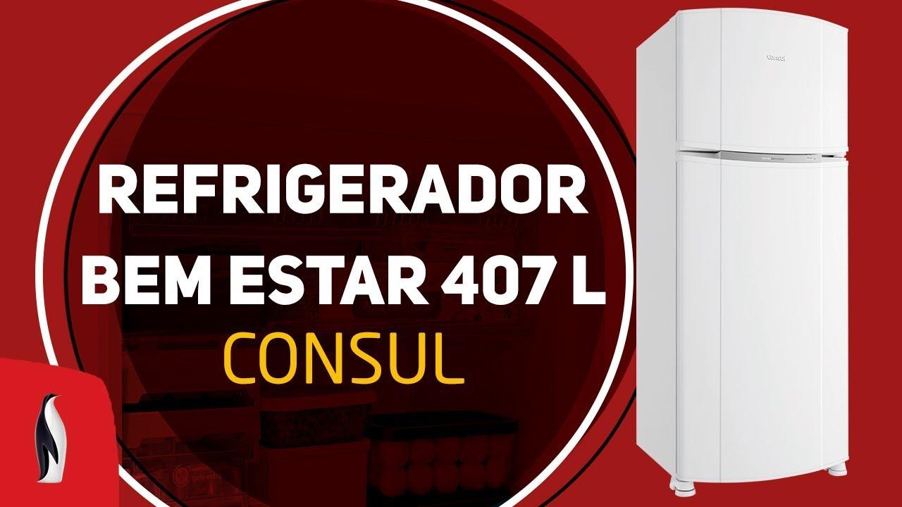 aa486ef5e Olha essa dica  Refrigerador Consul Bem Estar CRM45B - 407 L ...